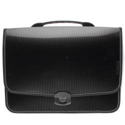 Папка-портфель А4, пластик, цвет черный PR4-L09-K inФОРМАТ