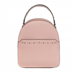 Сумка женская рюкзак, натуральная кожа, 200*240*100мм, 1 отделение, цвет розовый, на молнии Labbra L-16344-2L