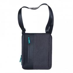 Сумка-планшет мужская полиэстер 22*26*4 Kaspersky Lab Grizzly MMk-820-9 черный