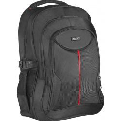 """Сумка-рюкзак для ноутбука 15,6"""" (330*450*130мм), лямки, органайзер, цвет черный Defender 26077"""