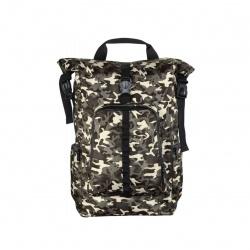 """Сумка-рюкзак для ноутбука 15.6"""" 35*45*12 Hama Roll-Top камуфляж/коричневый нейлон (00101819)"""