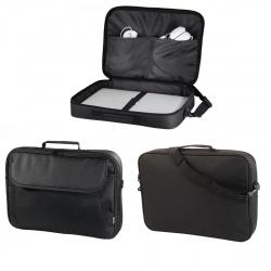 """Сумка для ноутбука Sportsline Montego 17,3"""" (340*440*70мм), ручки, плечевой ремень, цвет черный Hama 00101087"""