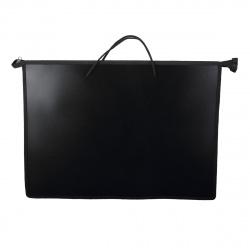 Папка для художника пластик на молн сверху А3 (330*450*50мм) 1отд КОКОС ПМ-А3-35/206351 черная