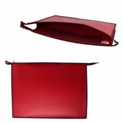 Папка для художника пластик на молн сверху А3 (345*465*50мм) 1отд ПР 3-8 7540 руч Красный