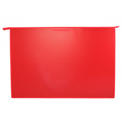 Папка для художника пластик на молн сверху А1 (660*900*50мм) 1отд ПР 4/7506 руч красный