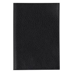Обложка для паспорта кожа Befler Baku тиснение O.1.BK. черная