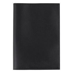 Обложка для паспорта натуральная кожа, цвет черный Fabula Largo O.1.LG.