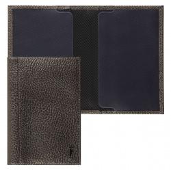 Обложка для паспорта натуральная кожа, цвет оливковый Fabula O.97.TR.
