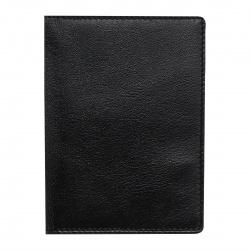 Обложка для автодокументов натуральная кожа, 4 открытых кармана, черный Имидж 211