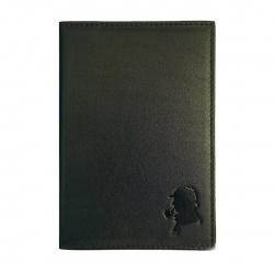 Обложка для автодокументов кожа Domenico Morelli Шарм 10*14 с отделом д/карт тиснение отстрочка DM-B001-KP07 красная