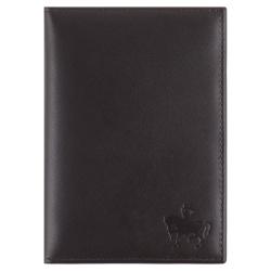 Обложка для автодокументов натуральная кожа, 2 открытых кармана Domenico Morelli Brown-2 DM-B001-K02-C