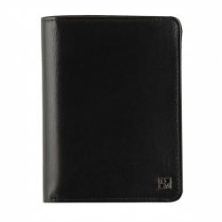 Обложка для автодокументов натуральная кожа, 4 открытых кармана, 1 закрытый карман на молнии Domenico Morelli Клайд DM-OD12-K011