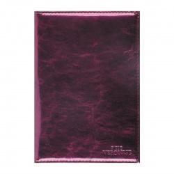 Обложка для автодокументов кожа Paolo Veronese 10*14 тиснение BV-6-ML31 фиолетовая