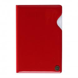 Обложка для автодокументов к/з ДПС 9,5*14 тиснение 2904-1002 красная