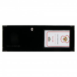 Обложка для удостоверения кожа Имидж Шик 8*10,5 с окошком 2,70-211