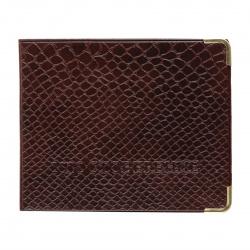 Обложка для удостоверения к/з Имидж Аллигатор 9,5*10,5 металлические уголки Аллигатор 2,37 2уг