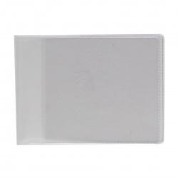 Обложка для удостоверения ПВХ ДПС 8*11 120мкм 1100 прозрачная