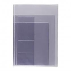 Папка с файлами для семейных документов ОМС, свидетельств и СНИЛС ПВХ, 230*320мм, цвет прозрачный deVENTE 1031908