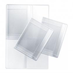 Папка с файлами для семейных документов ОМС, свидетельств и СНИЛС ПВХ, 230*320мм, цвет прозрачный deVENTE 1031917