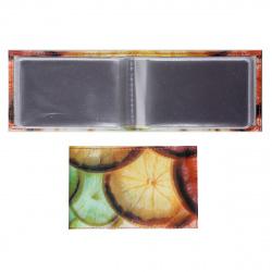 Футляр для карт кожаный 60*100 Grand 02-129-150 рисунок