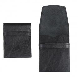 Футляр для карт кожаный 70*90 Grand 02-107-0713 черный