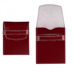 Футляр для карт кожаный 70*90 Grand 02-107-0951 красный