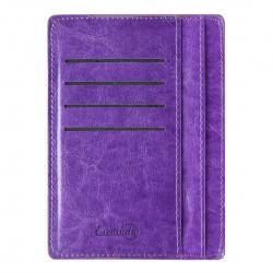 Картхолдер искусственная кожа, 110*150мм, цвет фиолетовый Феникс 45962