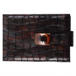 Визитница на 28 визиток, натуральная кожа, 70*110мм Elisir WNZ-3-276