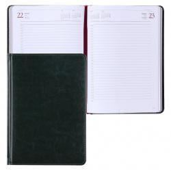 Ежедневник датированный 2022г, А5, 168, книжный переплет Sidney Nebraska BrunoVisconti 3-125/05