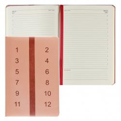 Ежедневник недатированный, А5, 168, книжный переплет FIORENZO 209778