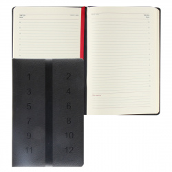 Ежедневник недатированный, А5, 168, книжный переплет FIORENZO 209779