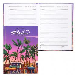 Ежедневник недатированный, А5, 80л, склейка Небо над тропиками Проф-Пресс 80-7474