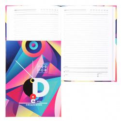 Ежедневник недатированный, А5, 80л, склейка Абстракт-дизайн Проф-Пресс 80-7485