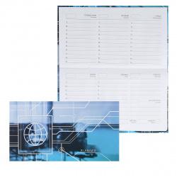 Еженедельник (планинг) н/д интегр обл 64л Listoff Схема мат лам ПКЛ2166402