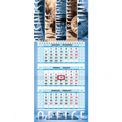 Календарь кварт настен 2021г 19*44 МИНИ-1 3блоч 1греб с бегун Office-time Hatber 3Кв1гр5ц_23527