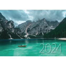 Календарь кварт настен 2021г 29*70 3блоч 3греб с бегун Президент-2021 Проф-Пресс КК-1897