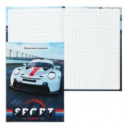 Книжка записная А7, 48л, клетка, склейка, твердый картон 7Бц Хороший автомобиль-3 Проф-Пресс 48-2107