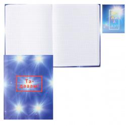Блокнот-бизнес А5, 64л, клетка, книжный переплет, интегральная, ассорти 2 вида ВАА-АУ БиДжи ББ5и64_лм_вл 8986