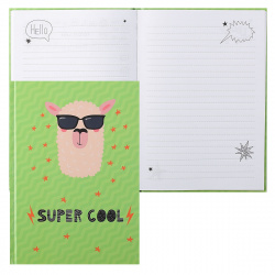 Книжка записная А5 (145*210) 100л  обл мягк 7БЦ карт Listoff Super Cool Дизайн 5 глян лам КЗ51003332