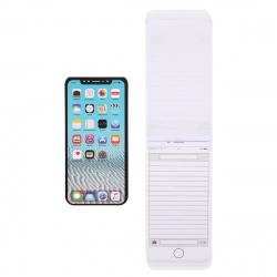 Блокнот А6 (67*137) 48л линия склейка обл мягк карт Hatber Телефон Белый глянц лам жест подлож 48Б6В5к_13997
