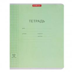 Тетрадь 12л клетка Erich Krause Классика с линовкой 40000 зел