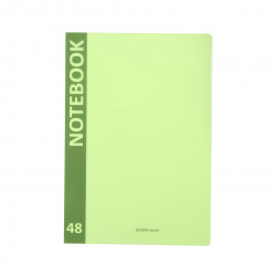 Тетрадь А4 48л клетка обл пласт Erich Krause Neon 48221 зеленый