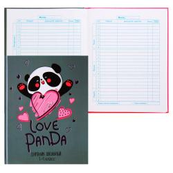 Дневник мл кл тв обл 7Бц дев глянц лам тисн фольг Дружелюбная панда Феникс 56484