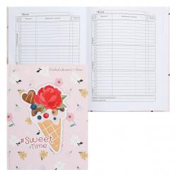 Дневник мл кл тв обл 7Бц дев глянц лам Цветы-мороженое Проф-Пресс Д48-0743