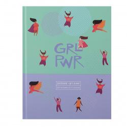 Дневник 5-11 класс, для девочек, твердый картон 7Бц True love БиДжи Д5т48_лм 9418