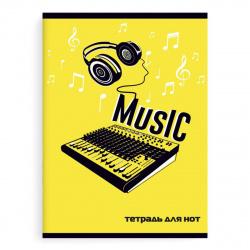 Тетрадь для нот А4 8л вертик Феникс DJ Пульт 52149