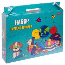 Набор для Первоклассника в подарочной картонной упаковке Hatber Учись с удовольствием Нп4_23390