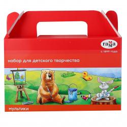 Набор для детского творчества Гамма Мультики в подарочной коробке 6-9 лет 270420205