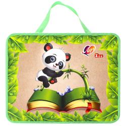 Набор для детского творчества Zoo с наполнением, 15 предметов, сумочка Луч 31С 1993-08