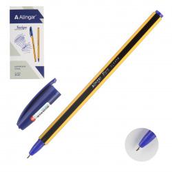 Ручка шар 0,7 цветн корп AL4404 Alingar син